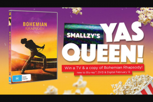 NOVA FM – Win a Tv & a Copy of Bohemian Rhapsody