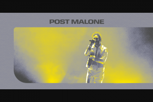 Optus – Win Tickets for You and 3 Friends to See Post Malone As He Returns to Australia With a Huge Arena Tour Across April and May this Year (prize valued at $3,998)