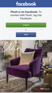 Plush – Win a Bel Air Chair for Your Perfect Match (prize valued at $1,599)