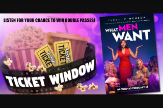 Powerfm SA – Win a Double-Pass to Taraji P Henson's New Hilarious Film 'what Men Want' Out February 14. (prize valued at $40)
