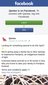 QANTAS – Gst and Taxes Included In The Price of The Ticket (prize valued at $3,500)