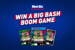 Sanitarium Weet-Bix – Win One of Fifty Big Bash Boom Console Games (prize valued at $1,500)