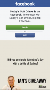 Saxby's Soft Drinks – Win a Delicious 15 Pck of Saxbys Cheery Cheer