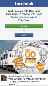 South Aussie With Cosi – Win a Family Pass to The Caravan & Camping Show??