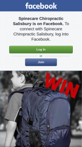 Spinecare Chiropractic Salisbury – Win a Back to School Backpack (prize valued at $129.95)