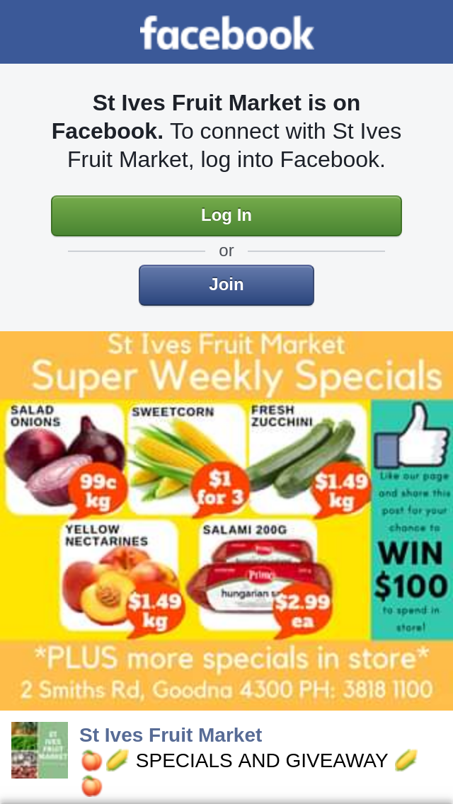 St ives fruit market win our weekly 100 spend in store - Div style padding ...