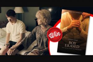 Stack Magazine – Win 1/3 Boy Erased Book Prizes
