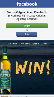 Stones Original – Win a $200 Bcf Voucher on Facebook (prize valued at $200)