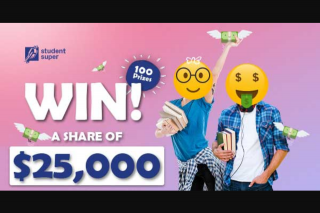 Student Edge – Win a Share of $25000 (prize valued at $25,000)