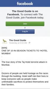The Good Guide – Tickets this Awesome Movie