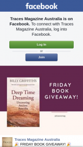 Traces – Win a Copy of Deep Time Dreaming Book