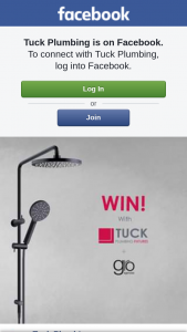 Tuck Plumbing – Win a Shower By Gro