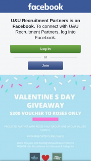 U&U Recruitment Partners – a $200 Voucher to Spend With Our Clients at Roses Only