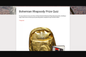 Video Ezy – Win One of Two of These Fantastic Bohemian Rhapsody Prize Packs