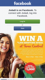3 X $1000 Gift Cards to Taree Central