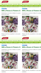 Yates Garden Club – Win a Roses & Flowers Gift Pack