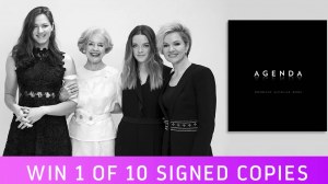10Daily – Win 1 of 10 Portrait books titled Agenda Empowering Australian Women, autographed by Sandra Sully valued at over $39 each