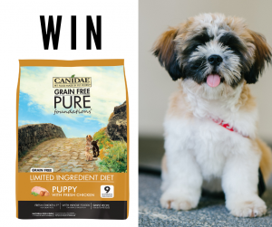 Canidae Pet Foods Australia – Win 1 of 5 bags of Canidae Grain Free Pure Foundations Puppy Dry Food 10.8kg