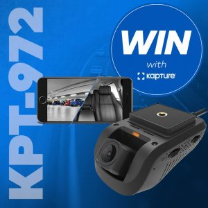 Kapture – Win 1 of 2 prizes of 3G Dual Camera Dash Cameras with GPS & Wifi valued at $449 each