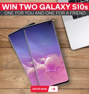 Kogan Australia – Win 2 Galaxy S10s 128GB one for you and one for a friend valued at $1,349 AUD each