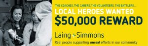 Laing + Simmons – Nominate a Real Hero to Win $5,000