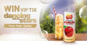 Network 10 – Step Out in Style – Win a trip for 2 to Sydney; 2 VIP tix to the Dancing with The Stars Finale; 2-night accommodation & airport/hotel transfer (total prize value is $4,900)