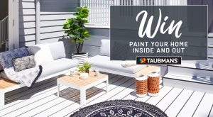 Network 10 – The Living Room – Paint Your Home with Taubmans – Win a prize package valued at up to $41,000