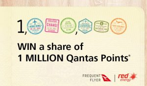 Qantas – Win a share of 1 Million Qantas Points