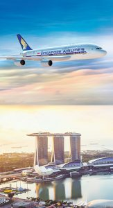 Singapore Airlines – Stop-Over, Stay-Over – Win a prize package for 2 including free trips