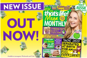 That's Life – Mega Monthly – Win a $15,000 crossword OR a Mazda SUV valued at $25,325