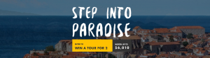 Tour Radar – Win a tour for 2 with Nature Trips in Italy, Montenegro, Croatia or Cacedonia valued at up tp $6,010