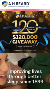AH Beard – Win $50000 Cash (prize valued at $1,005)