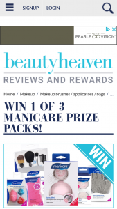 Beauty Heaven – Will Score a Prize Pack Featuring