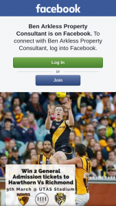 Ben Arkless Property Consultant – Win 2 General Admission Tickets to Hawthorn FooTBall Club Vs Richmond Fc