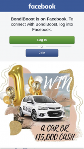 BondiBoost – Win a Car Or $15000? (prize valued at $15,000)
