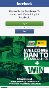 Castrol – Win a Castrol Edge/renault F1 Team 2018 Merchandise Pack