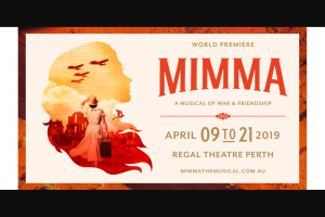 Community News – Win One of 3 Double A-Reserve Passes to See Mimma