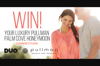 Duo – Win Your Luxury Pullman Palm Cove Sea Temple Resort and Spa Honeymoon