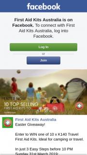 First Aid Kits Australia – Win One of 10 X K140 Travel First Aid Kits