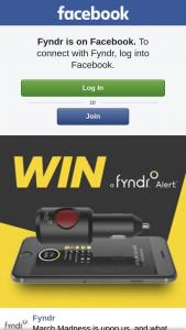 Fyndr – Win a Fyndr Alert Valued at $129.95. (prize valued at $129.95)