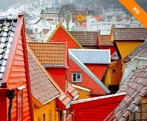 iFly KLM Magazine Australia – Win a trip for 2 to Bergen, Norway plus accommodation and tickets to the 'Sognefjord in a nutshell' tour