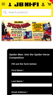 JB HiFi Pre-order Spider-Man – Win 1 of 3 'the Art of The Movie' Hardcover Books (prize valued at $150)