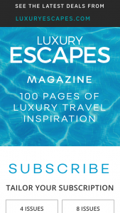 Luxury Escapes Magazine – Flights for Two on Srilankan Airlines In Economy Class (prize valued at $5,000)