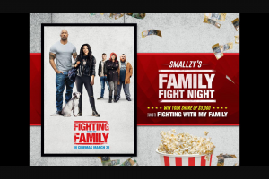 Nova FM – Win Your Share of $5000 Thanks to Fighting With My Family (prize valued at $5,000)