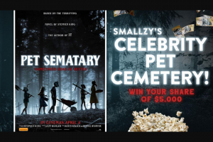 NovaFM Smallzy's Celebrity Pet Sematary – Win Your Share of $5000