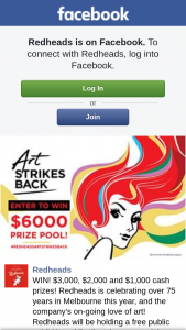Redheads – Win One of Our Cash Prizes (prize valued at $6,000)