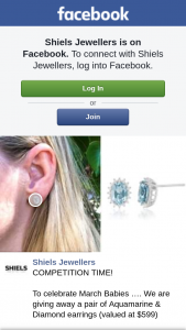Shiels Jeweller – a Pair of Aquamarine & Diamond Earrings (valued at $599) (prize valued at $599)