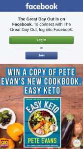 The Great Day Out – Win a Copy of Chef Pete Evans' New Cookbook
