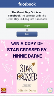 The Great Day Out – Win a Copy of Star Crossed By Minnie Darke