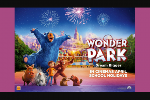 The West Australian – Win 1 of 70 Family Passes to Preview Wonder Park